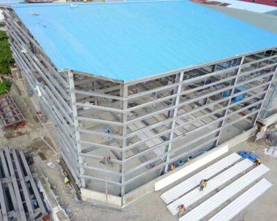 Prefabricated Metal Frame Storage Building