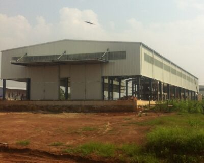 Prefabricated Structural Steel Warehouse