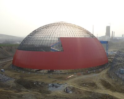 Prefabricated Steel Space Frame Dome Building