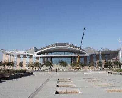 Sinoacme Prefabricated Metal Frame Cultural Activity Center