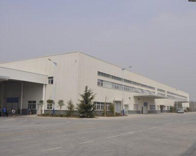 Sinoacme Prefabricated Engine Manufacture Plant