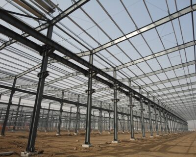 Prefabricated Steel Structure Industry Zone