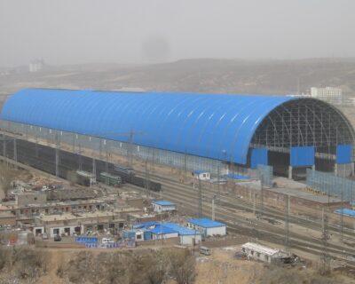 Prefabricated Steel Space Frame Building