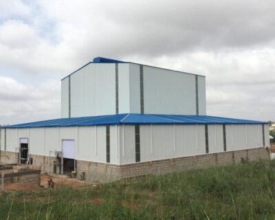Steel Structure Feeds Manufacture Workshop