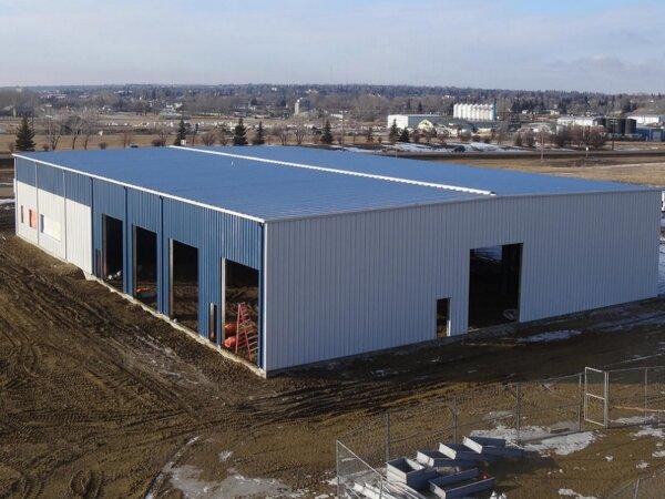 prefabricated metal warehouse ,metal warehouse kit