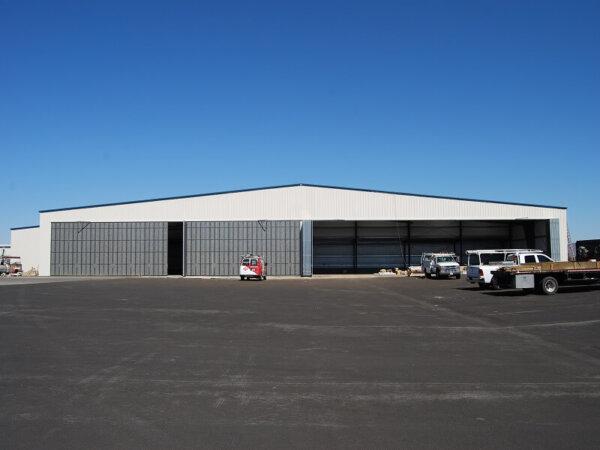 Metal hangars - airplane hangar kit for sale