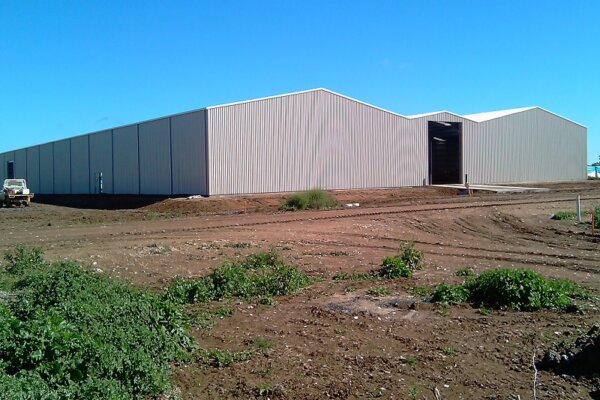 Custom design for agricultural buildings