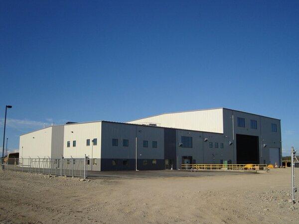 workshop building-metal buildings