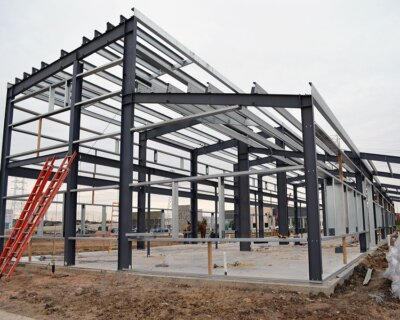 What Is The Steel Structure Connection Method?
